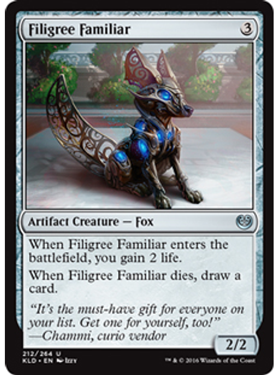 Filigree Familiar - KLD