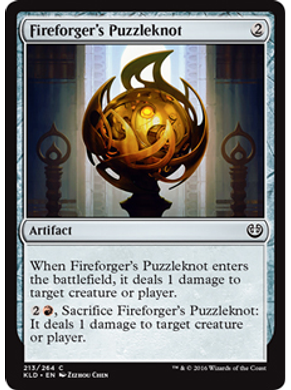 Fireforger's Puzzleknot - KLD