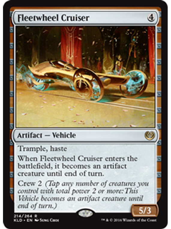 Fleetwheel Cruiser - KLD