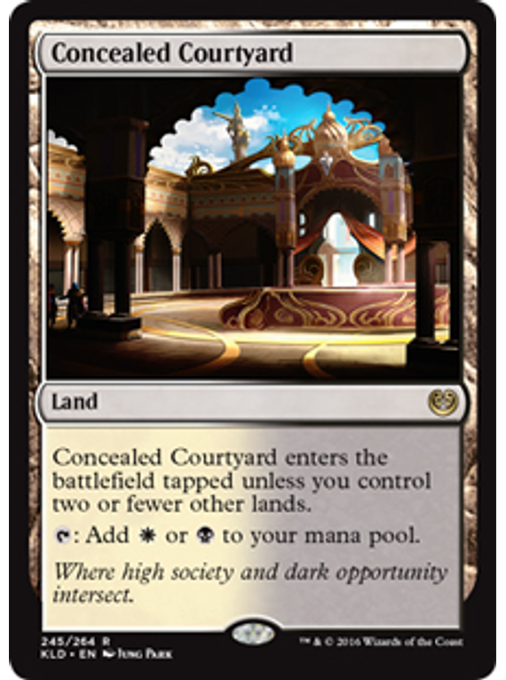 Concealed Courtyard - KLD