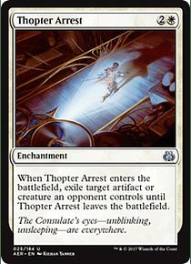 Thopter Arrest - AER
