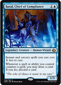 Baral, Chief of Compliance - AER