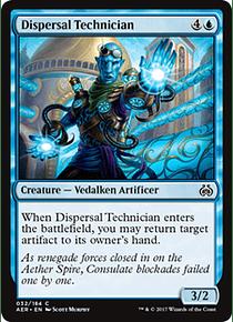 Dispersal Technician - AER