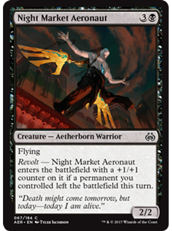 Night Market Aeronaut - AER