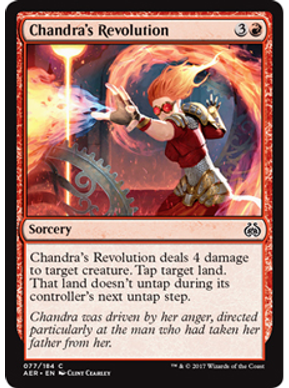 Chandra's Revolution - AER