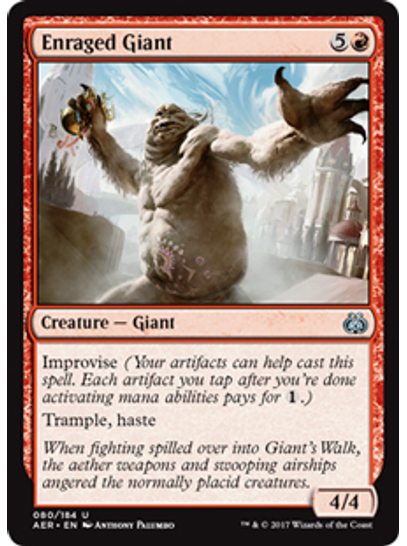 Enraged Giant - AER