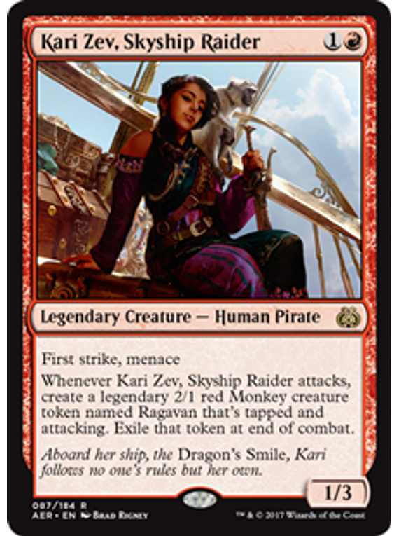 Kari Zev, Skyship Raider - AER - R