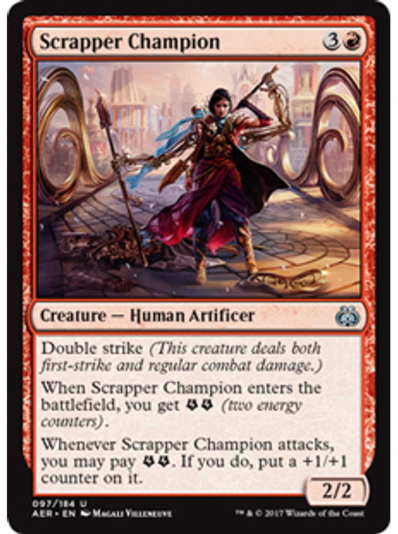 Scrapper Champion - AER