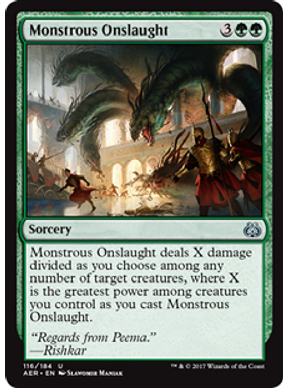 Mosntrous Onslaught - AER