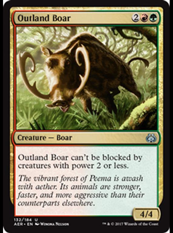 Outland Boar - AER