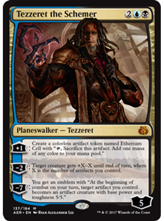 Tezzereth The Schemer - AER
