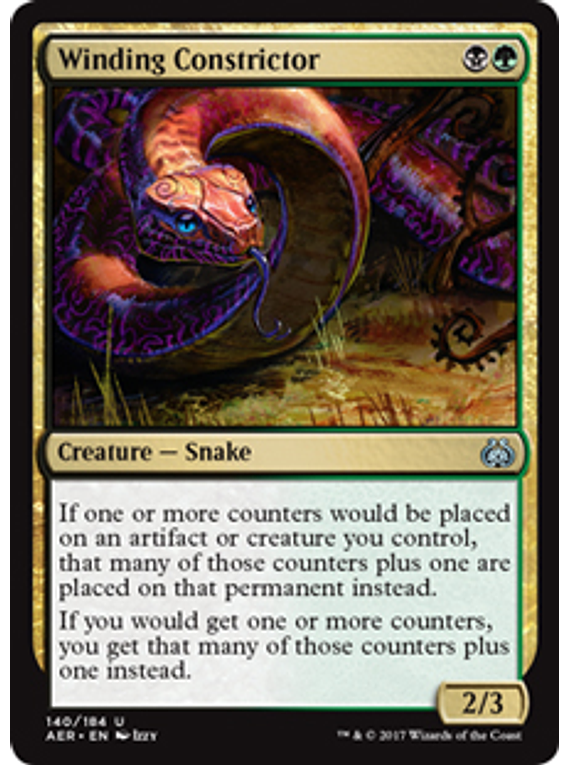 Winding Constrictor - AER
