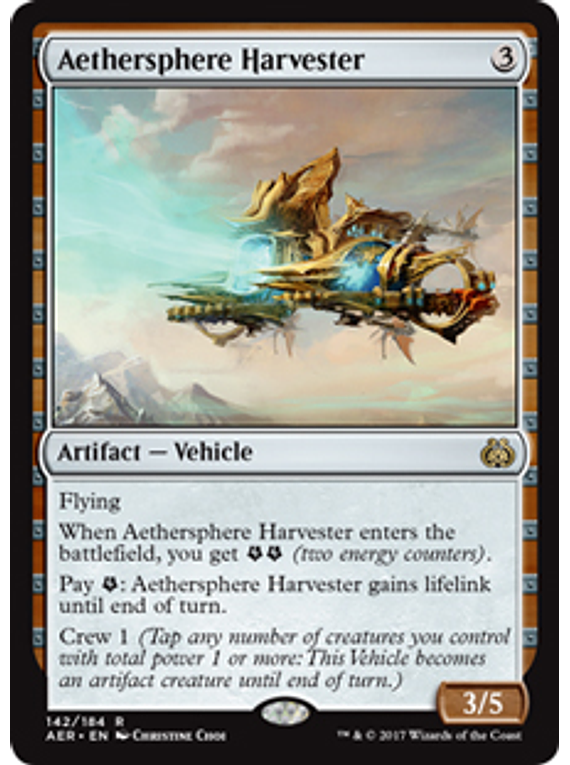 Aethersphere Harvester - AER
