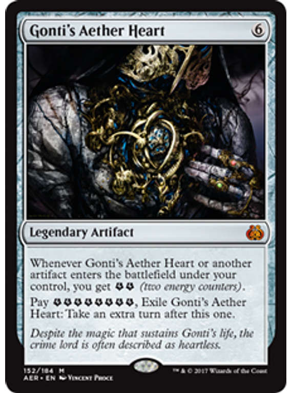Gonti's Aether Heart - AER