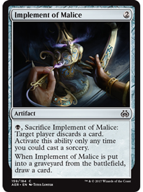 Implement of Malice - AER