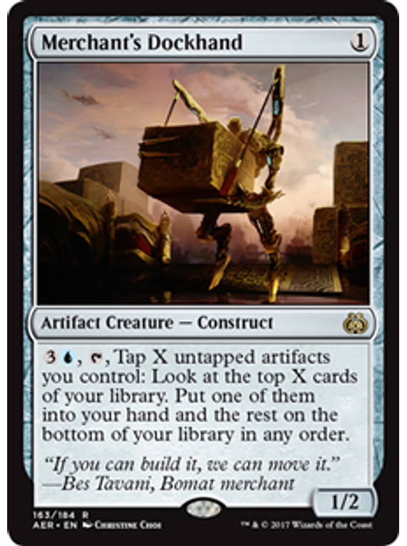 Merchant's Dockhand - AER