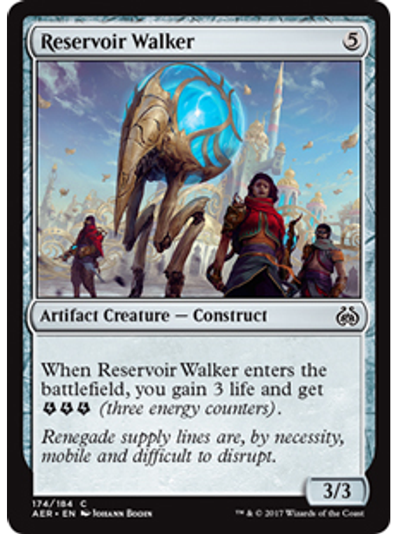 Reservoir Walker - AER
