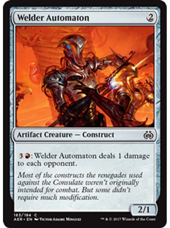Welder Automaton - AER