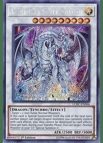 Azure-Eyes Silver Dragon - LCKC-EN066 - Secret Rare