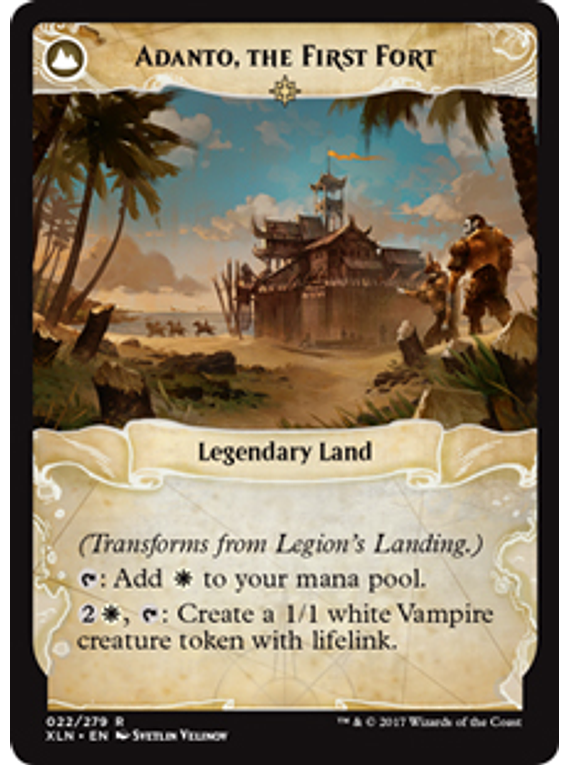 Legion's Landing / Adanto, The First Fort - XLN
