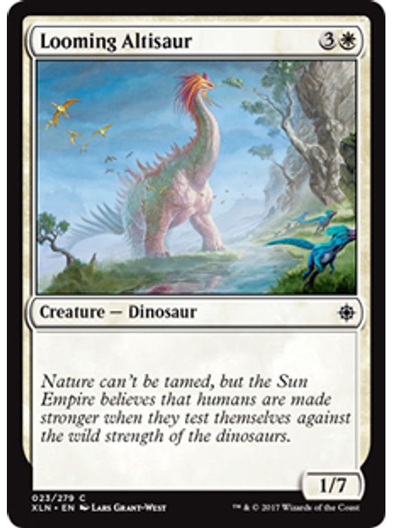 Looming Altisaur - XLN - C