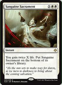 Sanguine Sacrament - XLN