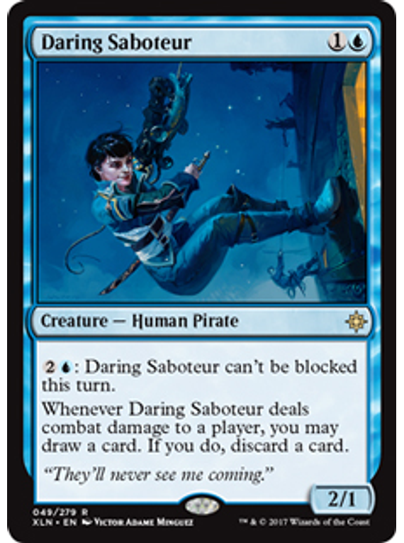 Daring Saboteur - XLN