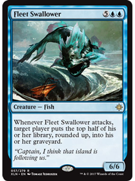 Fleet Swallower - XLN