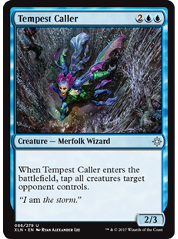 Tempest Caller - XLN