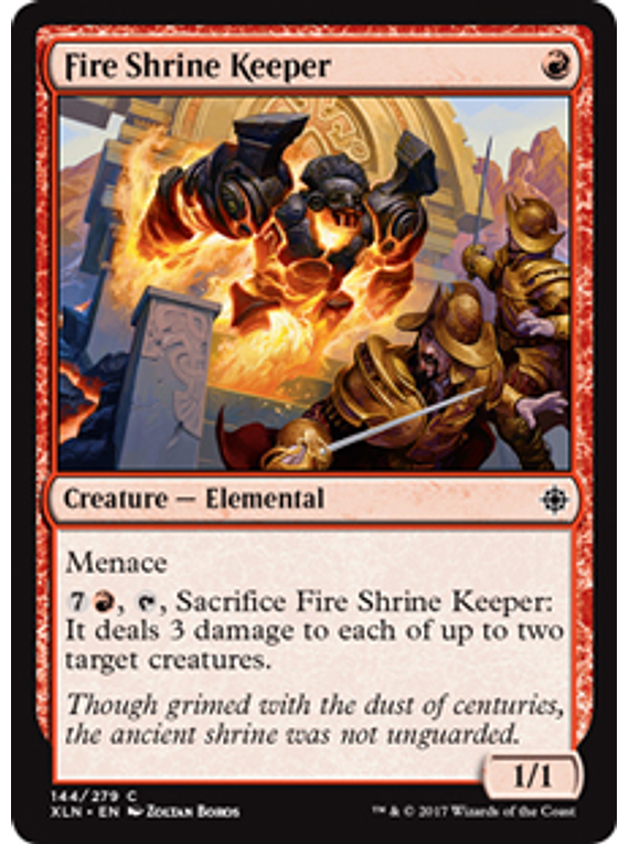 Fire Shrine Keeper - XLN - C