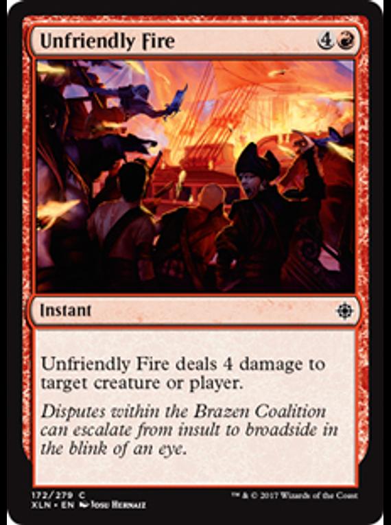Unfriendly Fire - XLN - C