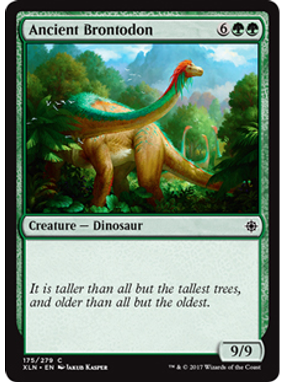 Ancient Brontodon - XLN - C
