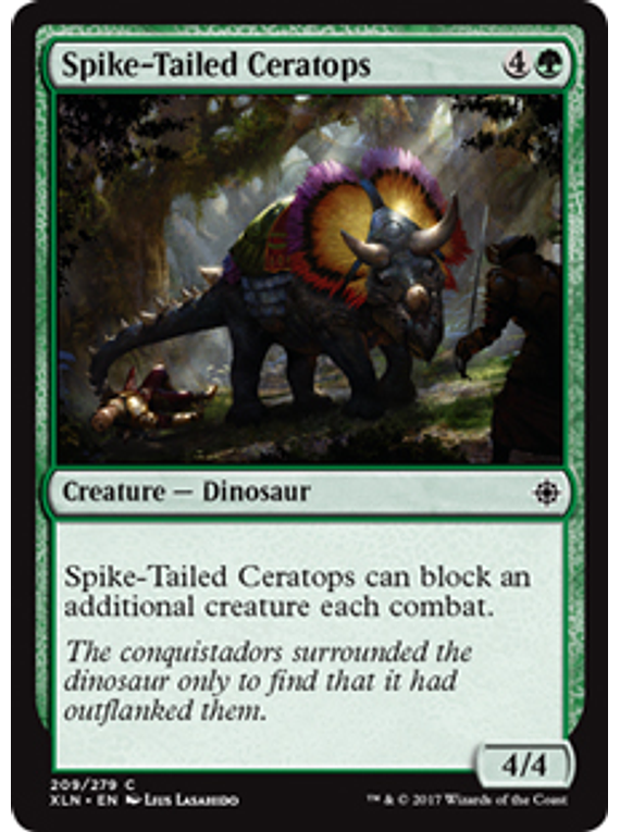 Spike-Tailed Ceratops - XLN