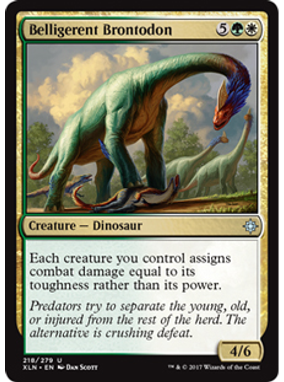 Belligerent Brontodon - XLN