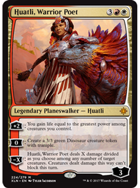 Huatli, Warrior Poet - XLN
