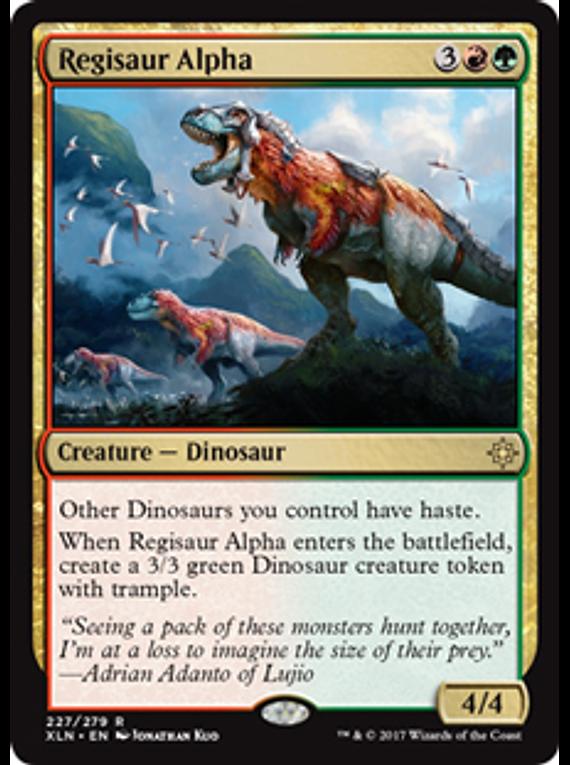 Regisaur Alpha - XLN