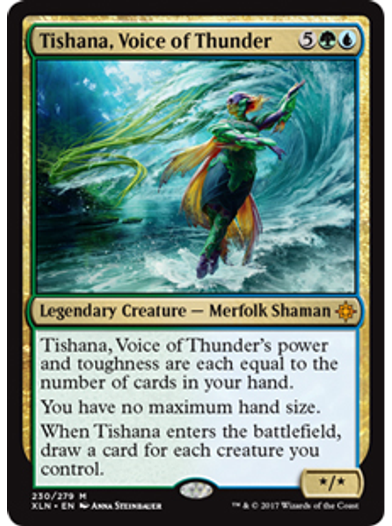 Tishana, Voice of Thunder - XLN