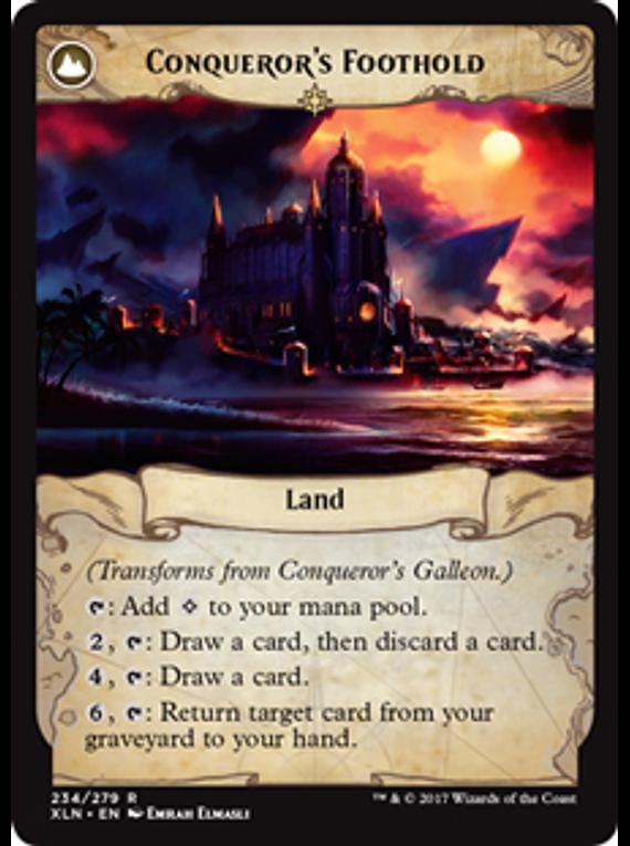 Conqueror's Galleon / Conqueror's Foothold - XLN