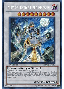 Ally of Justice Field Marshal - HA02-EN030 - Secret Rare
