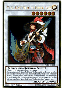 Virgil, Rock Star of the Burning Abyss - PGL3-EN061 - Gold Rare