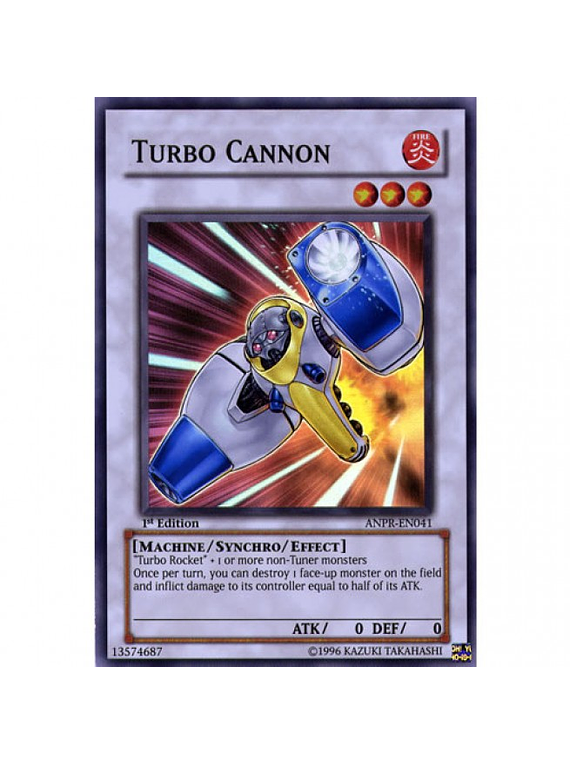 Turbo Cannon - ANPR-EN041 - Super Rare