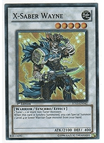 X-Saber Wayne - 5DS3-EN042 - Super Rare