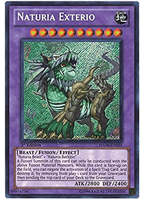 Naturia Exterio - HA04-EN055 - Secret Rare