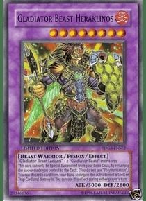 Gladiator Beast Heraklinos - TDGS-ENSE2 - Super Rare