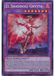 El Shaddoll Grysta - NECH-EN048 - Secret Rare