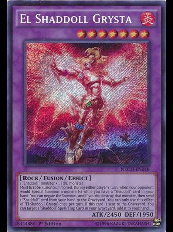 El Shaddoll Grysta - NECH-EN048 - Secret Rare