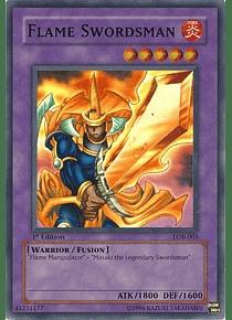 Flame Swordsman - LOB-003 - Super Rare