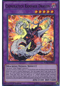 Chimeratech Rampage Dragon - BOSH-EN093 - Super Rare