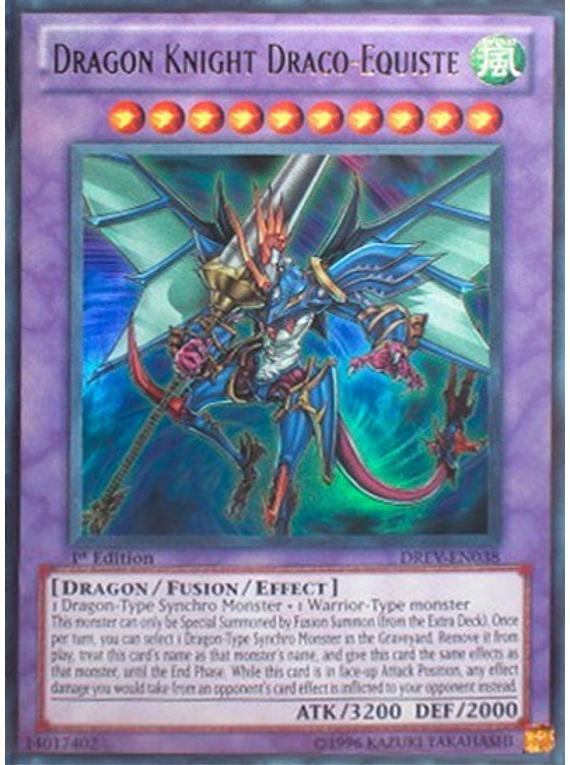 Dragon Knight Draco-Equiste - DREV-EN038 - Ultra Rare