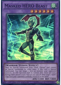 Masked HERO Blast - RATE-ENSE2 - Super Rare Limited Edition